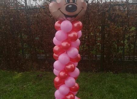 Ballonpilaar Minny Mouse