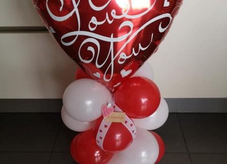 Tafelstukje Valentijn
