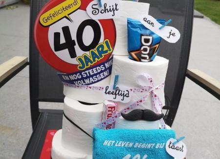 Schijt aan je leeftijd taart 5