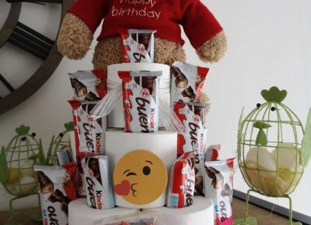 Schijt aan je leeftijd taart kinder bueno