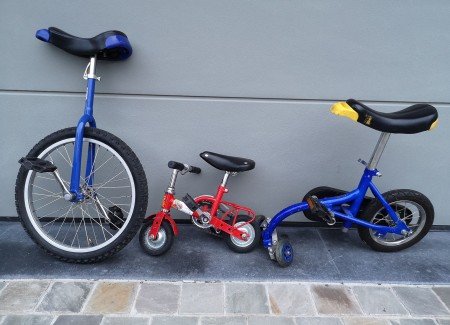 circusfietsen 5€/fiets