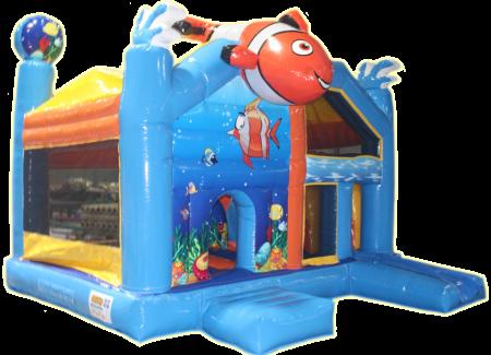 Nemo met glijbaan